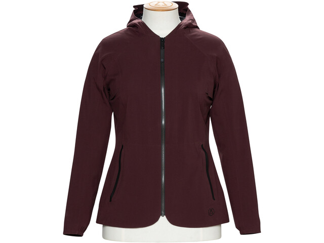 Alchemy Equipment 2.5 Layer Stretch Rain Shell Giacca Donna, merlot